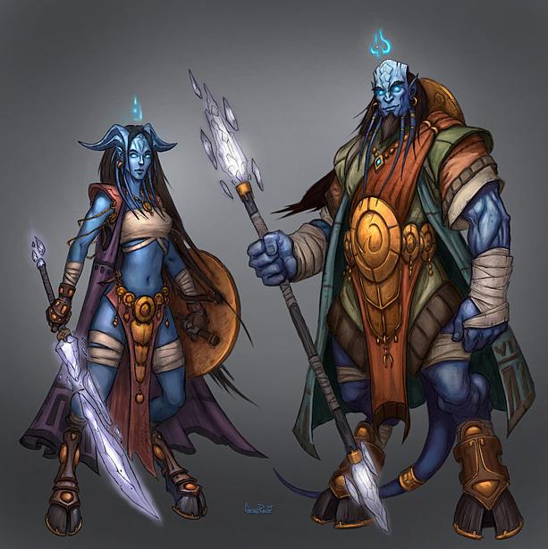 Расса для мага в легионе